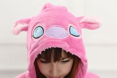 Animal Stitch Onesie Adulto Adolescentes Pijamas Kigurumi Pijamas Engraçado Flanela Quente Macio Geral Onepiece Noite Casa Macacão Elsa Cosplay, Cosplay Costumes, Anime Cosplay, Mike Wazowski Fancy Dress, Stitch And Angel, Christmas Fancy Dress, Blue Gloves, Flannel Material, Home