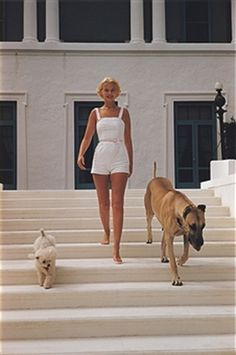 C.Z. Guest Print by Slim Aarons at Photos.com
