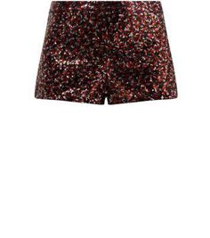 La Belle Heart Multicoloured Sequin Shorts #shorts #covetme #belleheart