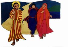 The Road to Emmaus, by Gisele Bauche