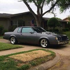 Buick t type Grand National Gnx, 1987 Buick Grand National, Monte Carlo, Sexy Cars, Hot Cars, Gm Car, Chevy Muscle Cars, Car Chevrolet, Cadillac Fleetwood