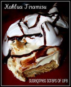 SusieQTpies Cafe: Kahlua Tiramisu Recipe - quick and easy