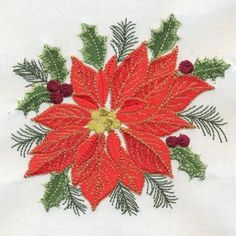 Machine Embroidery- Delightful Christmas
