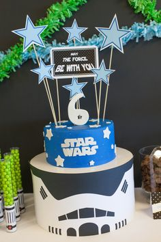Star Wars Theme Birthday Party Printable by PetitePartyStudio