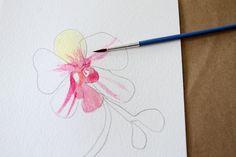 DIY Watercolor Art
