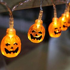 Access Control Kits Brilliant Halloween Pumpkin String Lights Solar Led String Lamps Holiday Party Decoration Lights For Courtyards,shop Windows,stores,trees