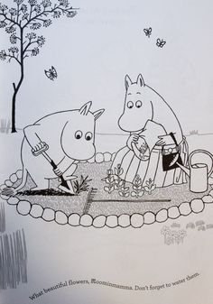 moomins colouring pages Tove Jansson, Colouring Pages, Printable Coloring Pages, Moomin Wallpaper, Moomin Valley, Little Critter, Cute Characters, Cute Drawings, All Art