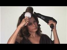 Hair Styling Tools : How to Use a Blow Dryer