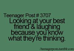 Yep…then everyone looks at you strange cuz its an inside joke and they don't get it!