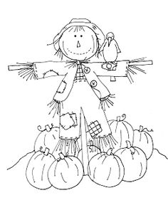 Free Dearie Dolls Digi Stamps: Friendly Scarecrow part two.requested by Diane C. I will color later if you like and post tomorrow. Fall Coloring Pages, Pattern Coloring Pages, Coloring Pages To Print, Coloring Pages For Kids, Coloring Books, Free Coloring, Scarecrow Coloring Pages Free Printable, Scarecrow Pictures, Moldes Halloween