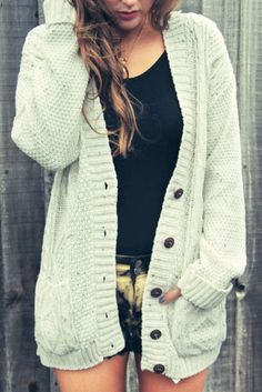 Covet Cable Cardigan from Siren London. Saved to Cardigan. Shop more products from Siren London on Wanelo. Ribbed Cardigan, Oversized Cardigan, Oversized Sweaters, White Cardigan, Sweater Cardigan, Burgundy Cardigan, Fall Winter Outfits, Autumn Winter Fashion, Sweater Weather