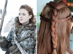 Game of Thrones Braid Inspo to Sport for the Finale via Brit + Co.