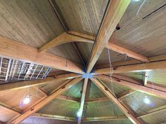 St. Josephs - Demarest, NJ - Nice view of newglulam ceiling