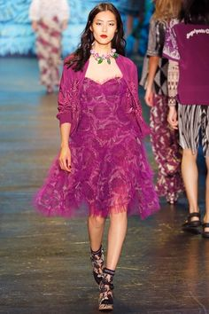 Anna Sui - Spring Summer 2016 Ready-To-Wear - Shows - Vogue.it
