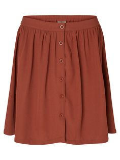 70s inspired skirt from VERO MODA. Style it with a buttoned-up classic shirt.