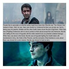 Neville Longbottom...the chosen one