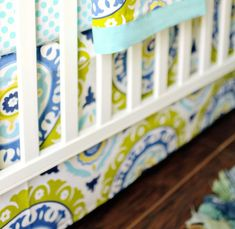 Shop a vast selection of baby bedding & baby crib sets in stock and made in the USA! Trendy crib bedding including buffalo plaid, floral, linen & more! Fresh and chic infant bedding for your nursery! Baby Crib Sets, Baby Bedding Sets, Nursery Bedding, Baby Cribs, Modern Baby Bedding, Modern Crib, Lime Green Bedding, Baby Christening Gifts, Baby Gifts