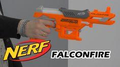 Nerf Accustrike Falconfire - Démo du blaster en français HD FR
