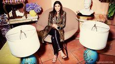 @Domaine goes vintage shopping with Kourtney Kardashian @45three Modern Vintage in Los Angeles!