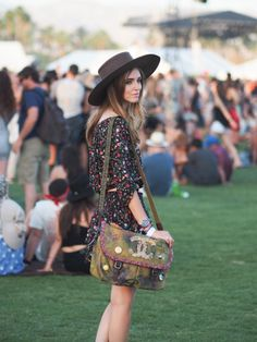 a rolling stone  Street Style at Coachella 2015