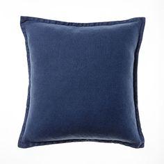 Belgian Vintage Washed Linen Storm Cushion