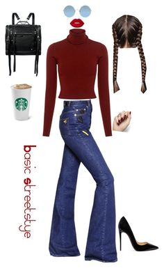 """""""Monday mood"""" by emerald95 on Polyvore featuring A.L.C., Sonia Rykiel, McQ by Alexander McQueen, Sunday Somewhere, Lime Crime and Christian Louboutin"""