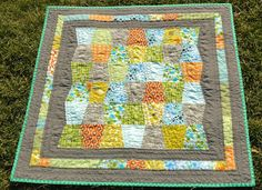 modest creations by michelle: modern boy tumbler quilt I seriously LOVE this quilt!