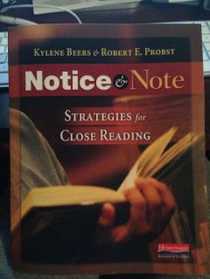Notice and Note-Strategies for Close Reading Anchored In 3rd Grade