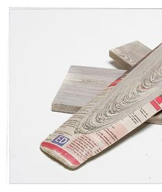 Newspaperwood by Vij5 - from newspaper to board