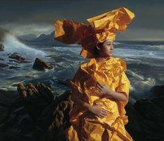 Zeng Chuanxing, Listening to the Sea, 130 c 150 cm
