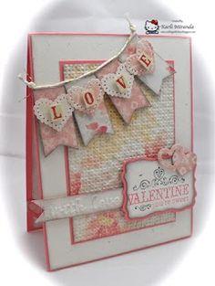 Sweet Valentine card, like the inside too