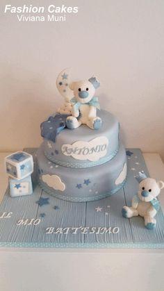 Christening cake!!! - Cake by fashioncakesviviana