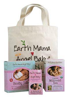 Breastfeeding Essentials Bundle from Earth Mama Angel Baby