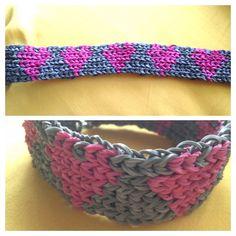 """""""Hearts"""" Rainbow Loom bracelet"""