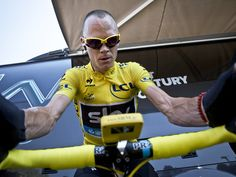 Chris Froome - a true Winner in Yellow! Scott Mitchell, Chris Froome, Warm Down, Sky Photos, Challenge S, Pro Cycling, Gentleman, Photo Galleries, Tours
