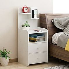 European New Nightstand Bedroom Bedside Storage Cabinets Economic Corner Cabinet More Provinces Wood Bedroom Furniture, Cabinet Furniture, Home Decor Furniture, Home Decor Bedroom, Furniture Design, Small Bedroom Storage, Bedside Storage, Bedside Cabinet, Bedroom Night Stands