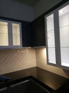 Corner Bathtub, Kitchen Cabinets, Mirror, Bathroom, Furniture, Home Decor, Washroom, Decoration Home, Room Decor