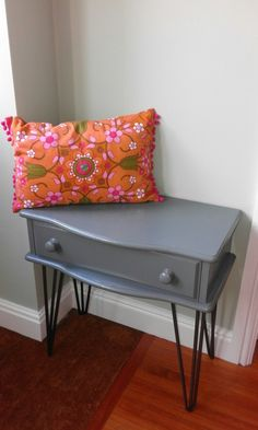 Homemade bench and cushion for my hallway