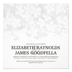 ReviewBlack And White Flowers Wedding Invitations Inviteso please read the important details before your purchasing anyway here is the best buy