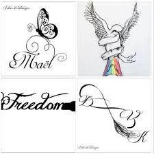 tatouage infini lettre - Recherche Google