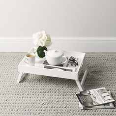 Breakfast Trays For Bed Entrancing I Love This Breakfast Tray But It's Not Available At The White Design Decoration