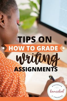 Tips On How to Grade Writing Assignments. #gradingwritingassignments #writingrubrics #writinggrades #gradingforwriting Creative Writing Stories, Cool Writing, Fun Writing Activities, Teaching Writing, Expository Writing, Writing Prompts, Grading Papers, 5th Grade Writing, Book Report Templates
