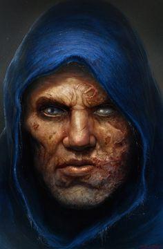 Death Soul, Adnan Ali on ArtStation at https://www.artstation.com/artwork/Xd3LD