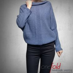 Knitted sweater | Comfy sweater
