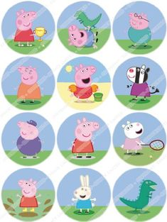 Cakeshop 12 x PRECUT Peppa Pig Edible Cake Toppers -- Check this awesome product by going to the link at the image. (This is an affiliate link) #DecoratingTools