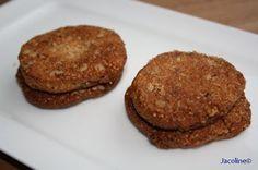 Gezond leven van Jacoline: Zandkoekjes van amandelmeel - crunchy healthy cookies!