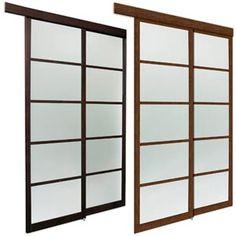 CONTEMPORARY | DOORS U0026 CLOSETS | Pinterest | Closet Doors, Sliding Closet  Doors And Frosted Glass