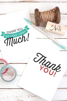 23 best free printable thank you cards tags etc images on