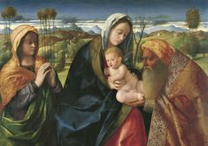 Bellini, Giovanni - Мистическая тема (Ныне отпущаеши), ок. 1505-10, 62 cm x 82,5 cm, Дерево, масло. Коллекция Музея Тиссена-Борнемиссы, Мадрид.