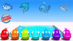 Learn Colors with Fish for Kids Toddlers Children ! Fish Colors For Children Learning Colors, Coloring For Kids, Nursery Rhymes, Toddlers, Fish, Marketing, Children, Young Children, Young Children